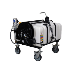 80 Gallon Portable Dispensing System with Side Mount Pump