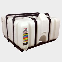 80 Gallon Rhino Tuff Caged Tank Package