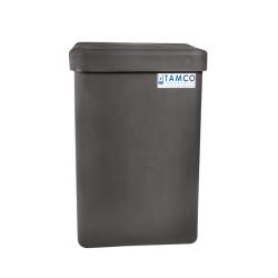 "10 Gallon Slate Gray Standard Square Tamco ® Tank with Cover - 11-1/2"" L  x 11-1/2"" W x 18"" Hgt."