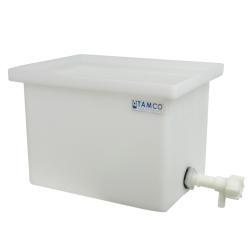 34 Gallon Polyethylene Tank with Spigot - 18