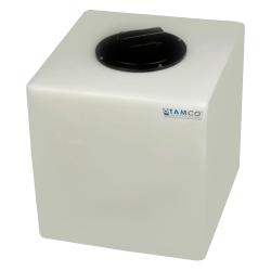 7 Gallon Natural Molded Polyethylene Tamco ® Tank with Lid - 13