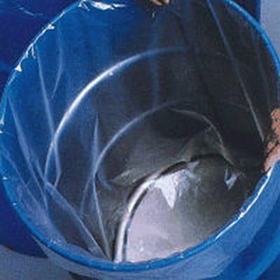 "55 Gallon Polypropylene Drum Liner 23.3"" x 40"" x 4 Mil"