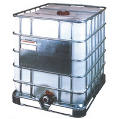 "330 Gallon EcoBulk MX IBC Tank with HDPE Pallet 48"" x 40"" x 53"""