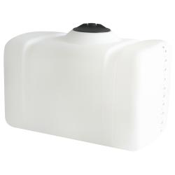 100 Gallon White Flat Bottom Tank, 43