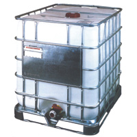 "275 Gallon EcoBulk MX IBC Tank with Steel Pallet 48"" x 40"" x 46"""