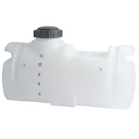"14 Gallon Spot Sprayer Tank w/ Sump 14"" x 31"""