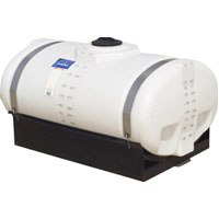 "200 Gallon Elliptical Tank 41"" x 66"" x 26"""