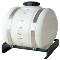 Round Horizontal Tanks