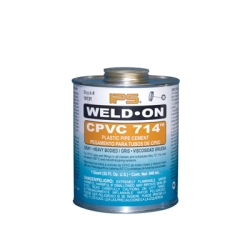 Pint Gray IPS ® Weld-On 714™ CPVC Cement