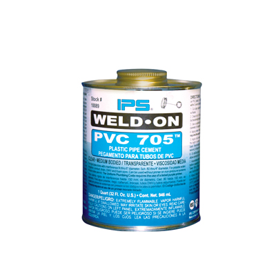 IPS® Weld-On 705™ PVC Cement