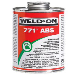 1 Pint IPS ® Weld-On 771™ ABS Cement
