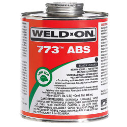 1 Quart Black IPS ® Weld-On 773™ ABS Cement
