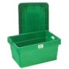 "Large Green Transport Box - 31"" L x 21"" W x 12-1/2"" H"