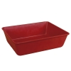 "14.6""L x 11.6""W x 4.1""H Red LEWISBin+ Fiberglass Nest Only Container"