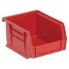 "Red Quantum® Ultra Series Stack & Hang Bin - 5-3/8"" L x 4-1/8"" W x 3"" Hgt."