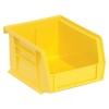 "Yellow Quantum® Ultra Series Stack & Hang Bin - 5-3/8"" L x 4-1/8"" W x 3"" Hgt."