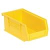 "Yellow Quantum® Ultra Series Stack & Hang Bin - 7-3/8"" L x 4-1/8"" W x 3"" Hgt."