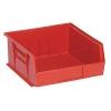 "Red Quantum® Ultra Series Stack & Hang Bin - 10-7/8"" L x 11"" W x 5"" Hgt."
