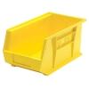 "Yellow Quantum® Ultra Series Stack & Hang Bin - 14-3/4"" L x 8-1/4"" W x 7"" Hgt."