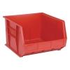 "Red Quantum® Ultra Series Stack & Hang Bin - 18"" L x 16-1/2"" W x 11"" Hgt."