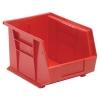 "Red Quantum® Ultra Series Stack & Hang Bin - 10-3/4"" L x 8-1/4"" W x 7"" Hgt."