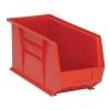 "Red Quantum® Ultra Series Stack & Hang Bin - 18"" L x 8-1/4"" W x 9"" Hgt."