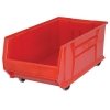 "29-7/8""L x 16-1/2""W x 11""H Red Mobile HULK Bin"