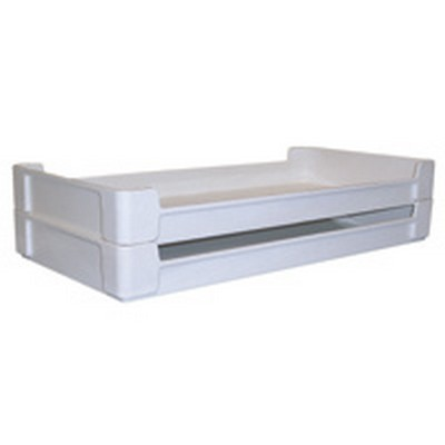 "24"" L X 12"" W X 2-3/4"" Hgt. Fiberglass Ventilation Stacking Tray"