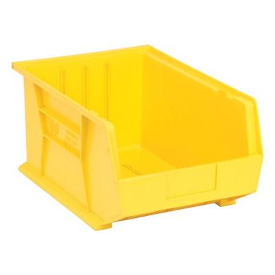 "Yellow Quantum® Ultra Series Stack & Hang Bin - 16"" L x 11"" W x 8"" Hgt."