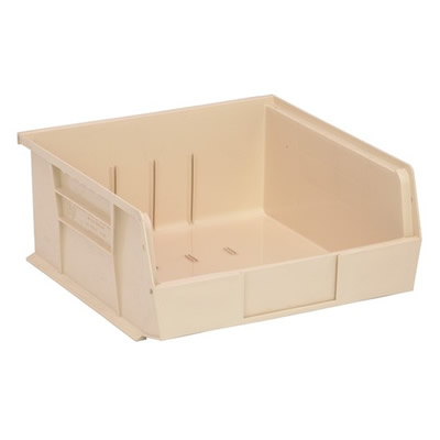 "Ivory Quantum® Ultra Series Stack & Hang Bin - 10-7/8"" L x 11"" W x 5"" Hgt."
