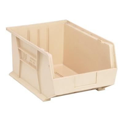 "Ivory Quantum® Ultra Series Stack & Hang Bin - 16"" L x 11"" W x 8"" Hgt."