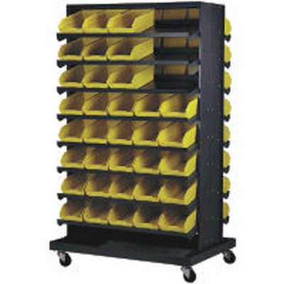 Quantum® Economy Shelf Bins Sloped Shelving Units