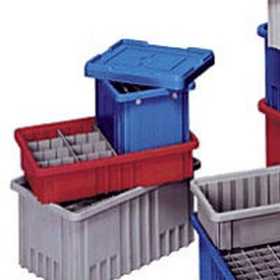 Quantum® Dividers & Covers for Grid Containers