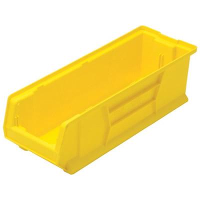 """23-7/8"""" L x 8-1/4"""" W x 7"""" Hgt. Yellow HULK Stack Bin"""