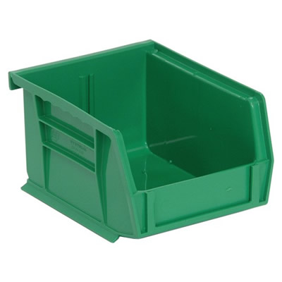 "Green Quantum® Ultra Series Stack & Hang Bin - 5-3/8"" L x 4-1/8"" W x 3"" Hgt."