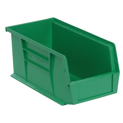 "Green Quantum® Ultra Series Stack & Hang Bin - 10-7/8"" L x 5-1/2"" W x 5"" Hgt."