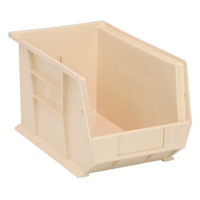 "Ivory Quantum® Ultra Series Stack & Hang Bin - 13-5/8"" L x 8-1/4"" W x 8"" Hgt."