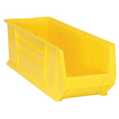 """29-7/8"""" L x 11"""" W x 10"""" Hgt. Yellow HULK Stack Bin"""