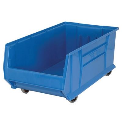 "29-7/8""L x 16-1/2""W x 11""H Blue Mobile HULK Bin"