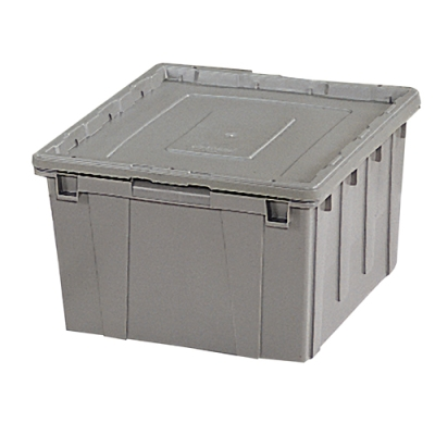 Storage Containers with Lock Covers United States Plastic Corp