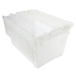 1.8 Cu. Ft. FliPak ® Clear Polypropylene Shipping Container - 21-4/5