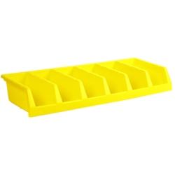 "Yellow 12"" System Bin 33""W x 5""H"