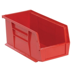 "Red Quantum® Ultra Series Stack & Hang Bin - 10-7/8"" L x 5-1/2"" W x 5"" Hgt."