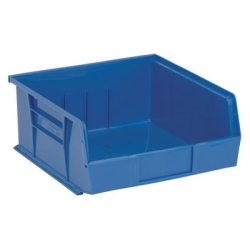 "10-7/8""L x 11""W x 5""H Blue Quantum® Ultra Series Stack & Hang Bin"