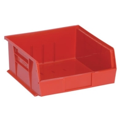 "10-7/8""L x 11""W x 5""H Red Quantum® Stack & Hang Bin"