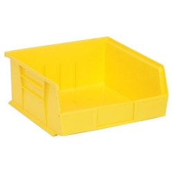 "Yellow Quantum® Ultra Series Stack & Hang Bin - 10-7/8"" L x 11"" W x 5"" Hgt."