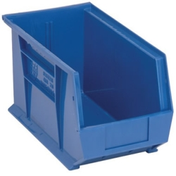 "Blue Quantum® Ultra Series Stack & Hang Bin - 14-3/4"" L x 8-1/4"" W x 7"" Hgt."