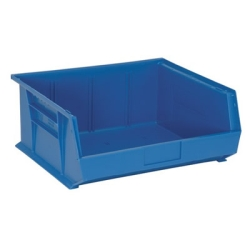 "14-3/4""L x 16-1/2""W x 7""H Blue Quantum® Ultra Series Stack & Hang Bin"