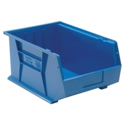 "16""L x 11""W x 8""H Blue Quantum® Ultra Series Stack & Hang Bin"