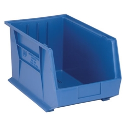 "Blue Quantum® Ultra Series Stack & Hang Bin - 18"" L x 11"" W x 10"" Hgt."